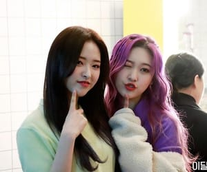 choerry, olivia hye, and loona image