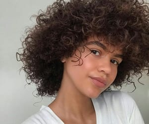 curls, girls, and beauty image