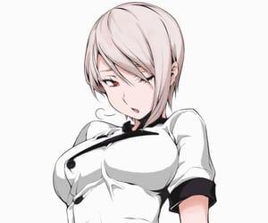 manga girl, nakiri alice, and manga color image