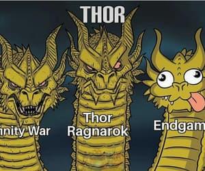 Marvel, endgame, and thor odinson image