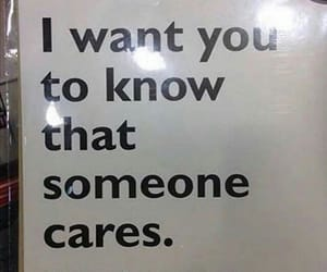 care, funny, and someone image