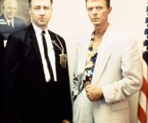 90's, david bowie, and agent cooper image