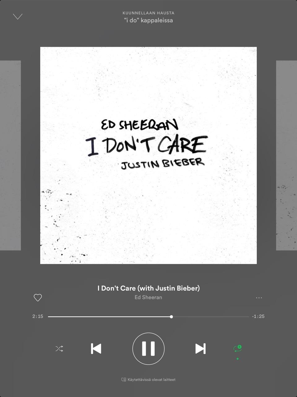 justin bieber, i don't care, and ed sheeran image