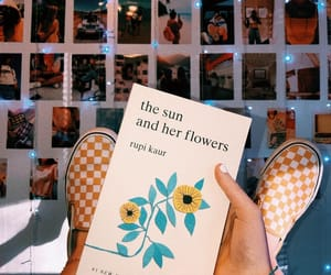 books, rupi kaur, and the sun and her flowers image