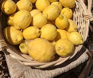 lemon, aesthetic, and fruit image