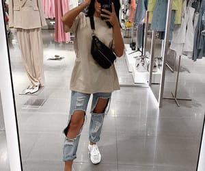 brunette selfie, goal goals life, and sac bag bags image