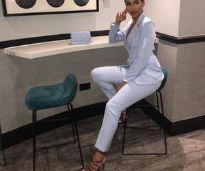 high heels heel, mode moda lové, and blue bleu stylish image