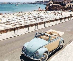 beach, summer, and car image