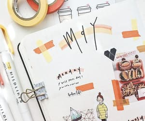 art, may, and orange image