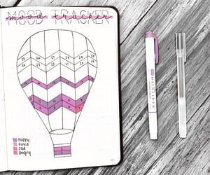 purple, tracker, and bujo image