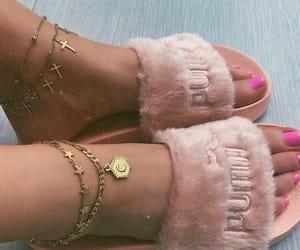fashion, girls, and gold image