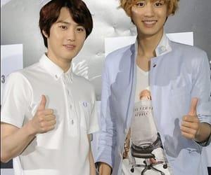 exo, chanyeol, and junmyeon image