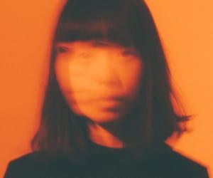orange, girl, and aesthetic image