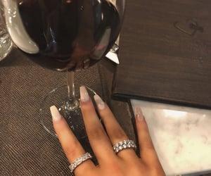 diamante and nails image