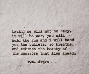 quotes, love, and gun image