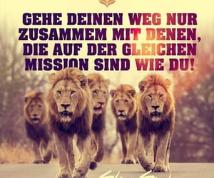 deutsch, mission, and spruch image