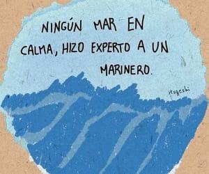 amor, azul, and frase image