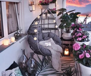 home, balcony, and decoration image