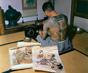 aesthetic, Tattoos, and japan image