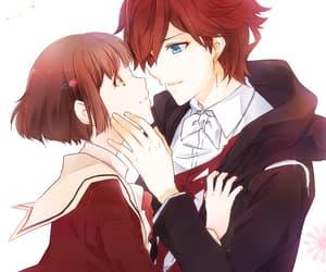 anime, linritsu, and couple image
