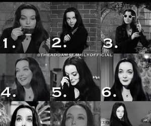 1-9 and which morticia addams image