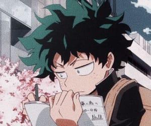 anime, bnha, and deku image