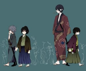 gintama, gintoki, and takasugi image