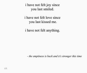 heartbreak, poem, and love image