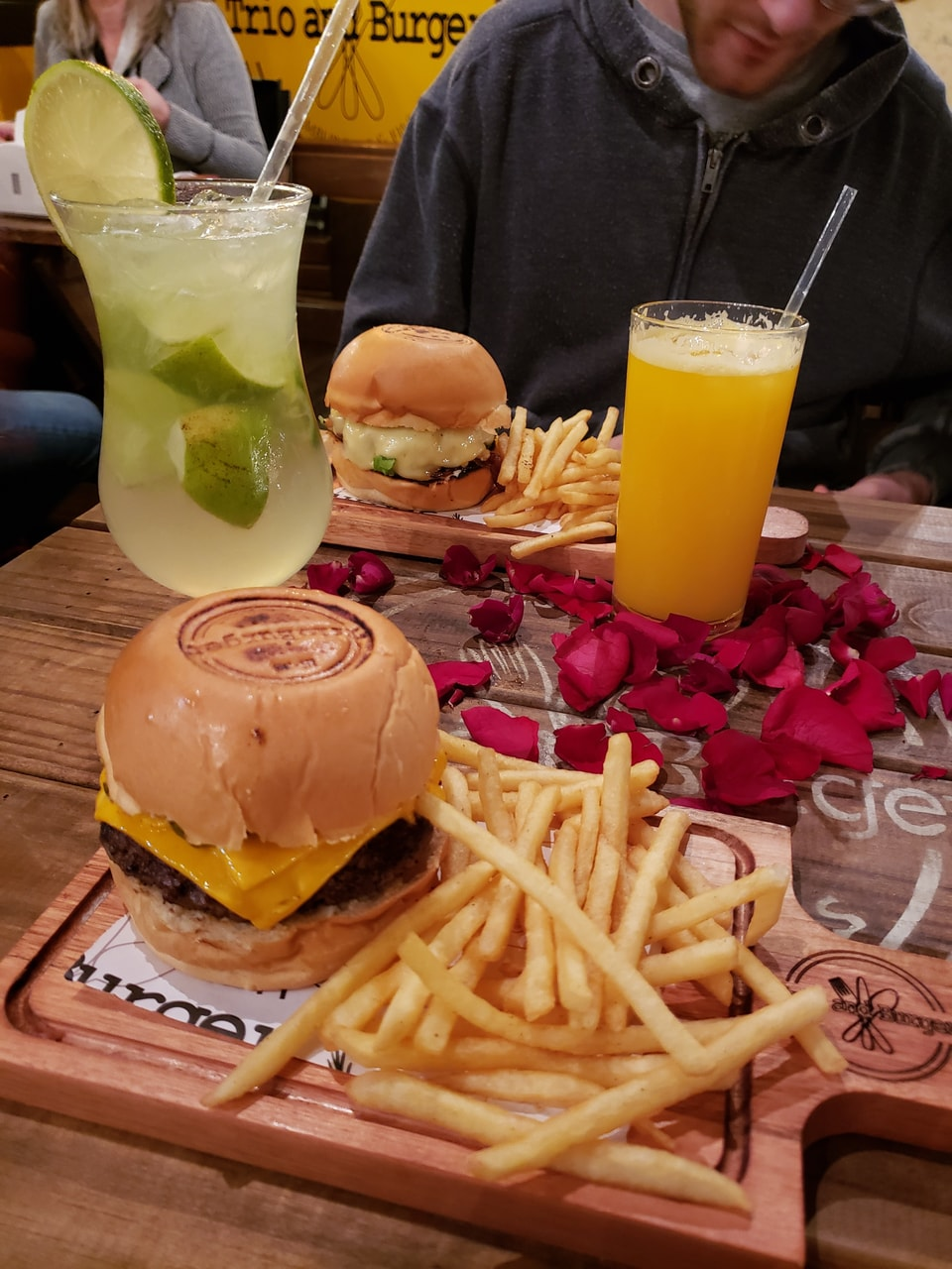 boyfriend, burger, and cheese image