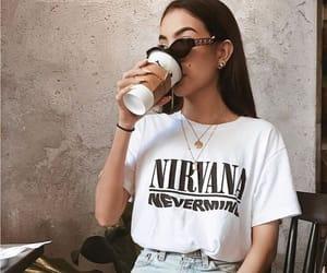 coffee, fashion, and nirvana image