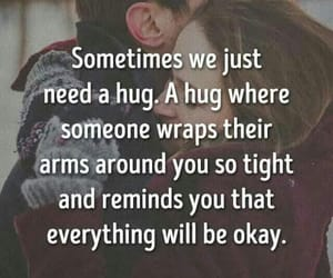 hugs, chronicpain, and quotes image