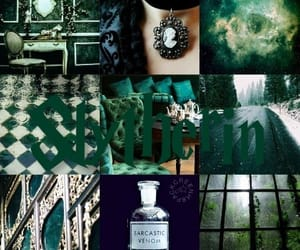 black, voldemort, and green image