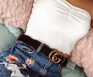 outfit, fashion, and gucci image