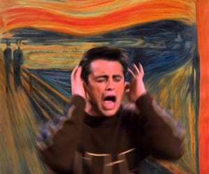 art, joey tribbiani, and painting image