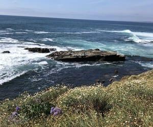 This photo brings up mixed feelings - beautiful but dangerous the ocean is.