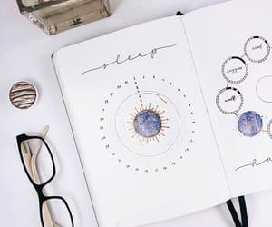 sleep, sleep tracker, and bullet journal image