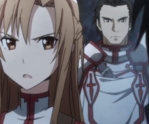 anime girl, SAO, and kirito image