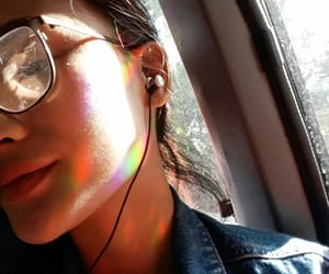 asian, rainbow, and golden hour image