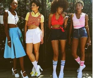 girls, retro, and style image