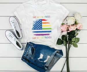 4th of july, american flag, and memorial day shirt image