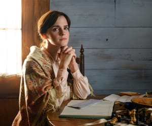emma watson and little women image