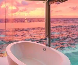 sunset, beautiful, and luxury image