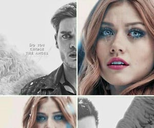 jace wayland, clace, and clary fairchild image