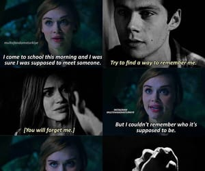 lydia, stiles, and tw image