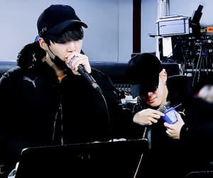 gif, seokjin, and min yoon gi image