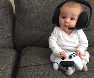 baby, game, and gameplay image