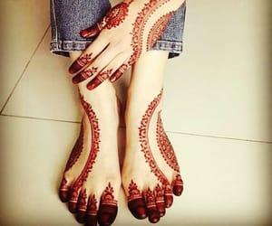henna, mehndi, and dpz image