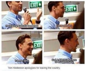 tom hiddleston, cute, and Marvel image