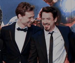 tom hiddleston, iron man, and Marvel image