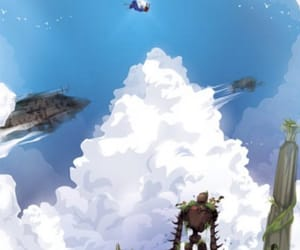 Castle in the Sky, studio ghibli, and laputa image